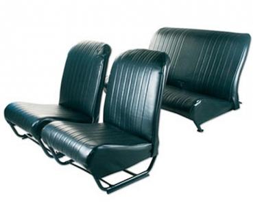 2cv shop bezug satz kunstleder schwarz geschlossene seiten je beide ecken der r ckenlehne. Black Bedroom Furniture Sets. Home Design Ideas